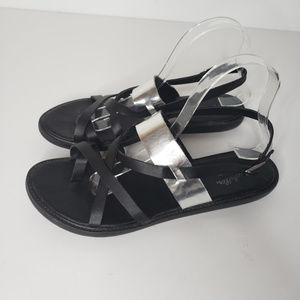 Seychelles Leather Slingback Strappy Sandals